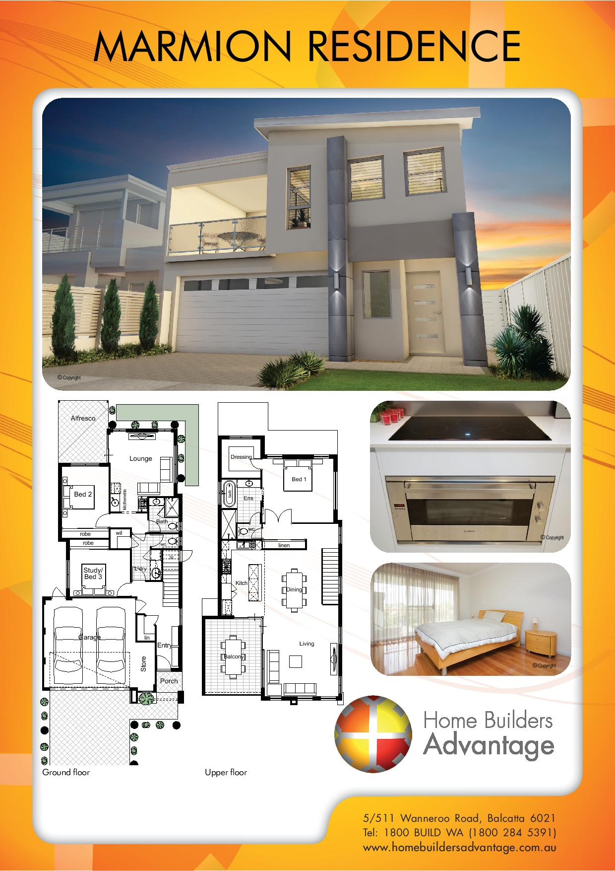 Double Storey Upside Down Living Small Lot Home Home