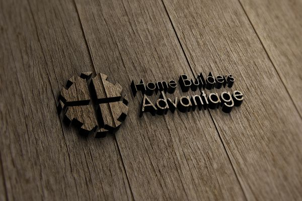 Home Builders Advantage Wood Logo