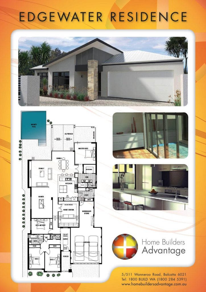Single storey floor plans see the no1 custom home designers for Single storey floor plans