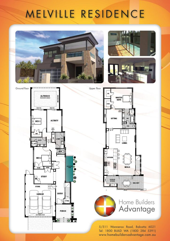 Double Storey Floor Plans By The Two Storey Experts