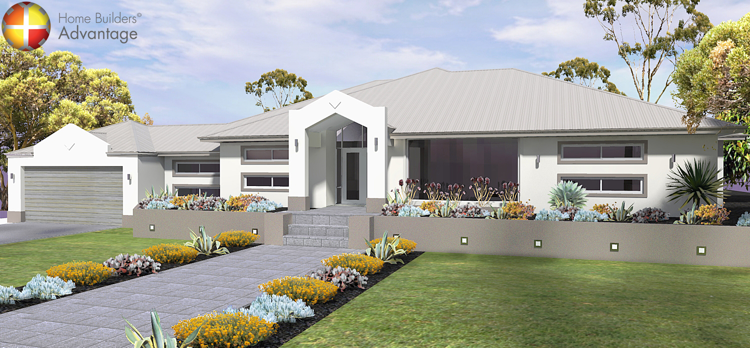 Image of Farmhouse style single storey Perth by HBA