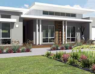Image if Skillion Roof Design by Home Builders Advantage