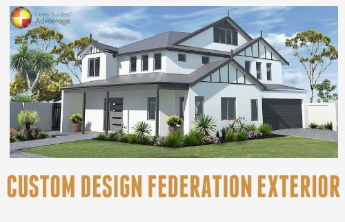Federation Style with Loft Exterior