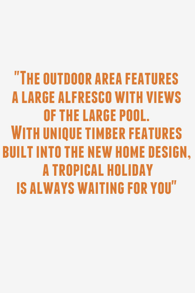Custom Design Resort Style Quote Alfresco Pool Timber Blog Quote Home Builders Advantage Perth The Building Broker