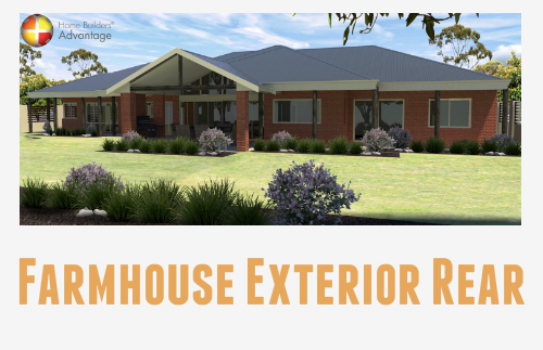 Farmhouse Exterior Rear With Blog Quote Home Builders Advantage Perth The Building Broker