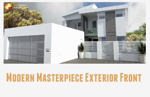 Modern Masterpiece Split Level Award Winning Housing Industry Association Awards Front Elevation Home Builders Advantage Perth The Building Broker