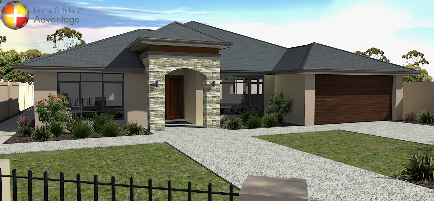 Picture of a resort style home Perth by HBA