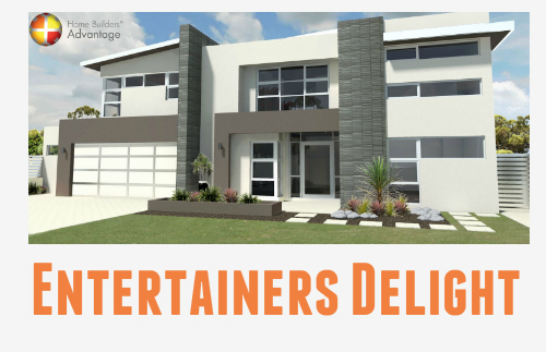 Two Storey Rear Balcony Gourmet Kitchen Entertainer Front Elevation With Blog Quote Home Builders Advantage Perth The Building Broker