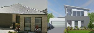 $165,000 Renovation Budget Home Builders Advantage Perth's Leading Building Broker Two Storey Extension Elevation Before and After